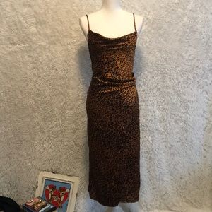 🐆 Leopard Slip Dress